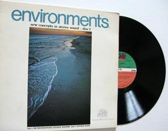 Environments New Concepts In Stereo Sound Disc 1 Vg